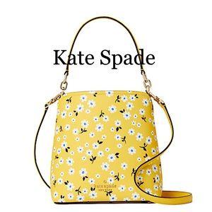 Kate Spade Darcy Fleurette Floral Small Bucket